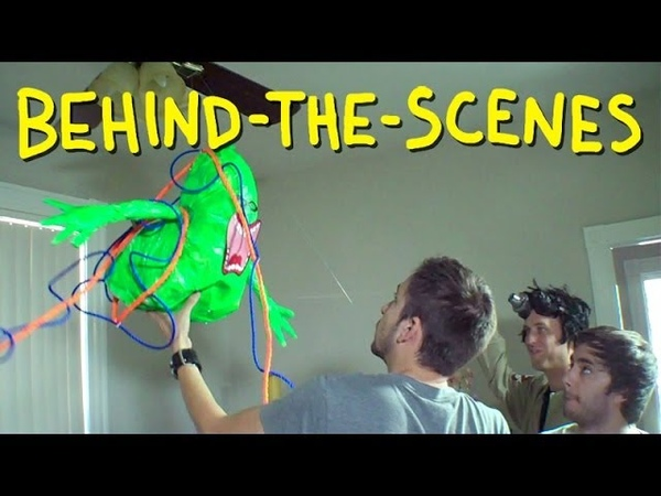 Ghostbusters Trap Slimer Homemade Behind The Scenes