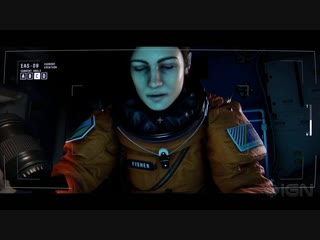 Observation  4 Minutes of Alone-in-Space Story Gameplay - IGN First
