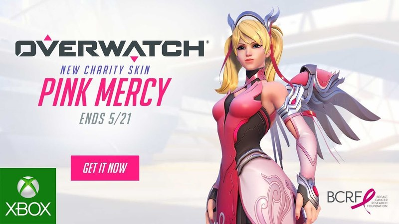 Overwatch® Pink Mercy Support the BCRF Xbox One