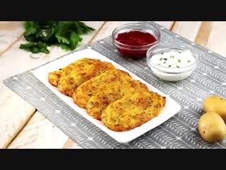 Драники из картофеля с сыром