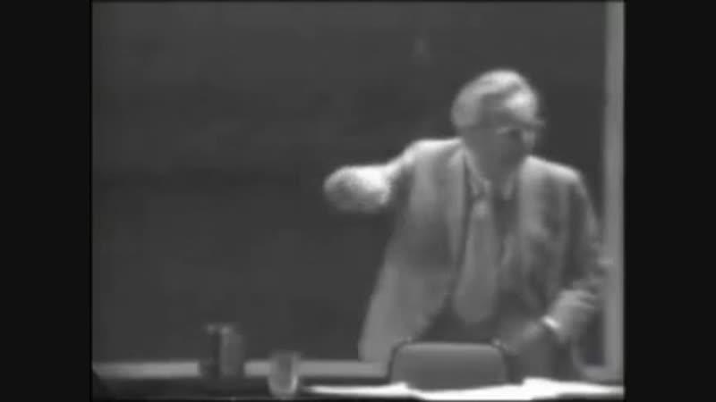 Виктор Франкл. . Знаменитая речь 1972 года.