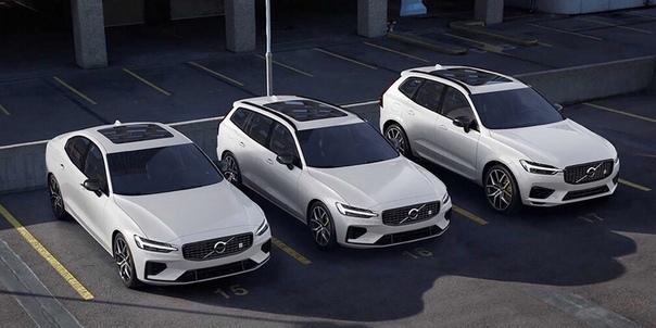 Volvo XC60 и V60 стали 420-сильными гибридами.