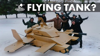 Will Our Dream Come True // Giant Flying Tank