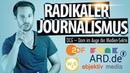 Radikaler Journalismus OCG Dorn im Auge der Medien Sekte MrWissen2Go Funk ARD ZDF Co