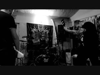Hellbomb подготоа к концерту necrophobic swe mod с-пб