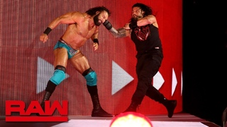 #My1 Roman Reigns unleashes an all-out assault on Jinder Mahal: Raw, May 14, 2018
