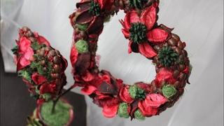 Topiary DIY / Топиарий в форме сердца своими руками