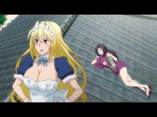 Sekirei 2 - Pure Engagement(Сэкирэй ТВ-2: Честная битва) - 02 RUS озвучка (юмор, аниме эротика, этти,ecchi, не хентай-hentai)
