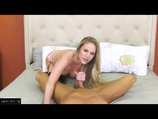 Marcus London & Jenna Jones [ In stockings,Чулки &  Blondes / Cunnilingus, Deep blowjob, Pussy, Finger, Shaved, Riding dick