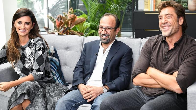 Penelope Cruz Javier Bardem talk Asghar Farhadi's 'Everybody Knows' TIFF 2018