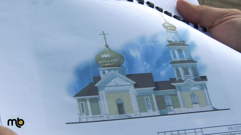Реконструкция храма в честь иконы Божией Матери Всех скорбящих Радость