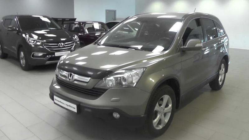 Выбираем б у Honda CRV 3 бюджет 700 800тр Комбо выпуск