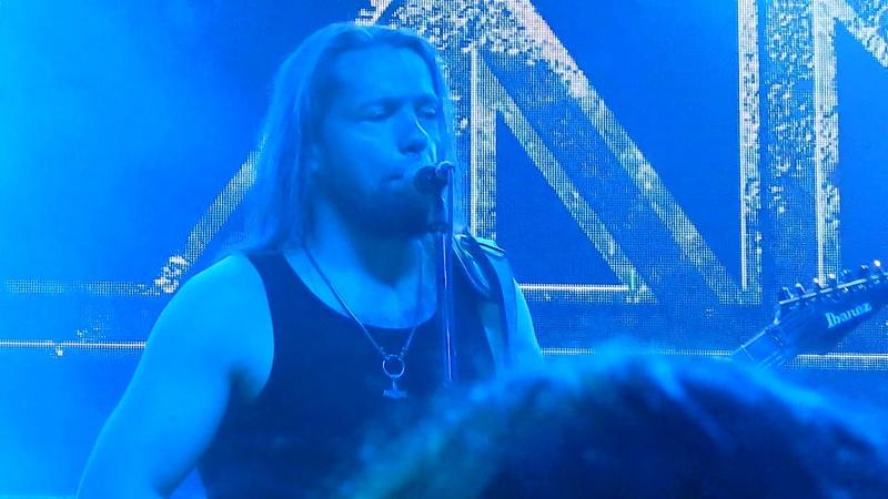 TÝR Sinklars Vísa live in Santiago Chile 26 Oct 2018