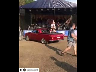 Pole dance car