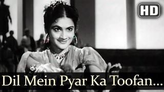 Dil Mein Pyar Ka Toofan (HD) - Yahudi Songs -Dilip Kumar - Meena Kumari - Lata Mangeshkar