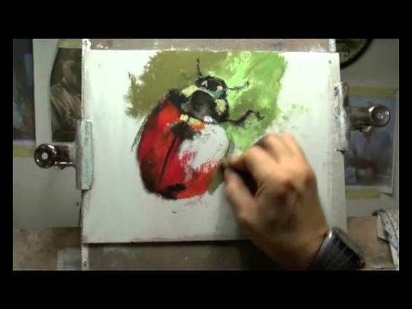 Come dipingere a pastello - Fasi di lavoro - William Rambaldi