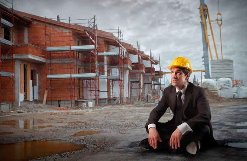 если строительная компания обанкротилась