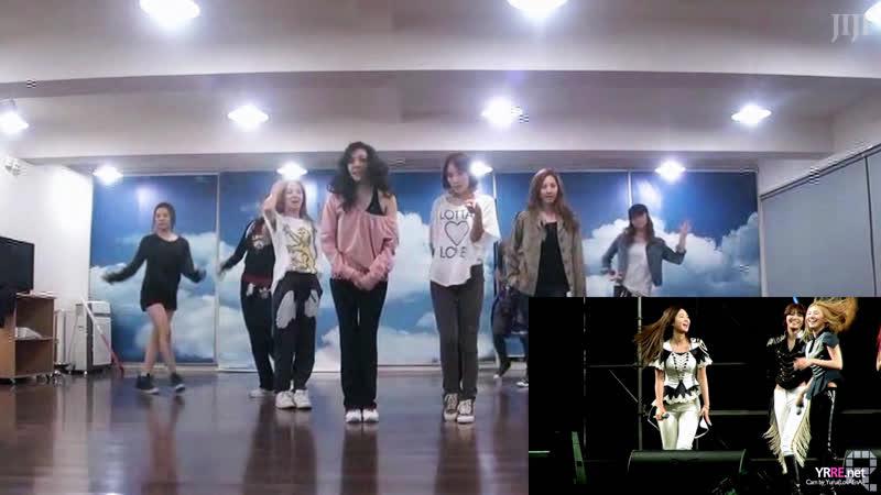 120527 「M R . T A X I」ユリの大移動(京仁アラベッキル Grand Open Concert Dance Practice Video)