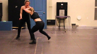 Stage Combat GB 2016: Terri and Virg