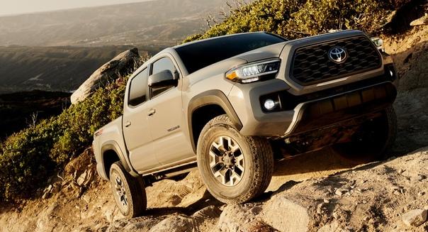 Обновленный пикап Toyota Tacoma Вот уже 14 лет Toyota Tacoma удерживает титул самого популярного среднеразмерного пикапа в США. А прошлый год стал рекордным за всю историю модели: продано 246