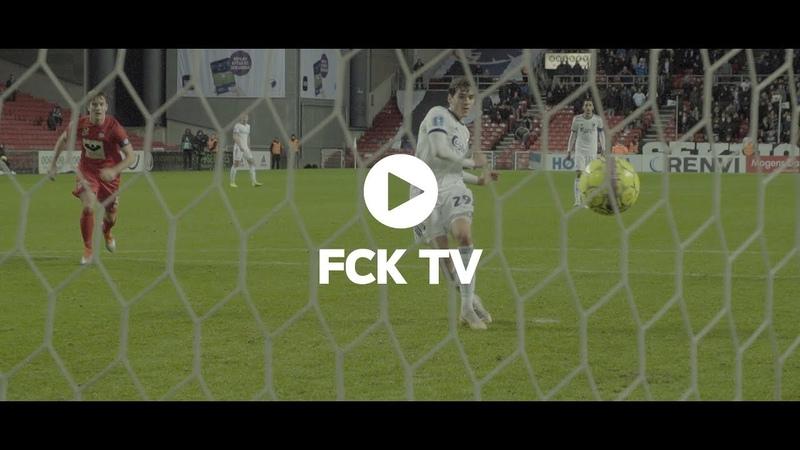 Straffeshow i superslow Stemningsvideo fra sejren over Esbjerg
