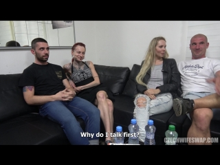 Petra & tereza [big tits, anal, blonde, gothic, hardcore, oral, piercing, punk, redhead, tattoo, 1080p]