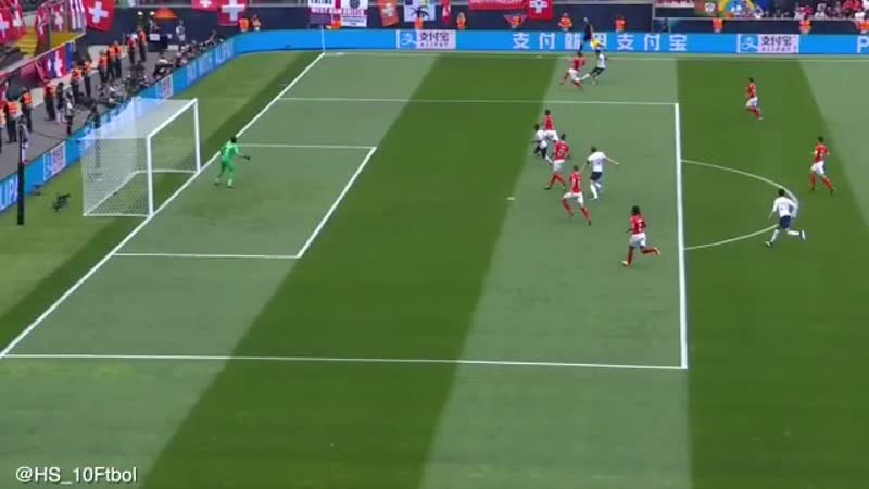 Trent chances criadas vs Suiza 09 06 19