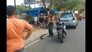 Anc4m Akan Tel nj ng Pria Ini Lolos dari Tilang Polisi