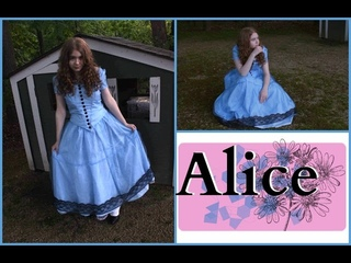 How To Make Alice's Blue Dress Costume Alice in Wonderland/Alice Through The Looking Glass