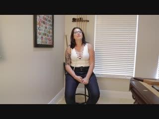 ivana bell-whitebodysuit_dl-720 (Boobs - Large, Butt - Huge, Cotton, Cropped Top, Glasses, Hair - Brunette, Lingerie, Thong, Top