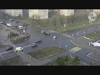 ДТП в Пинске произошло на глазах у милиции