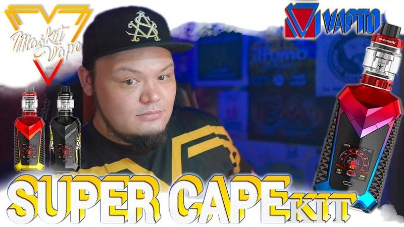 Super Cape Kit by Vaptio | Cal.18650 🔫