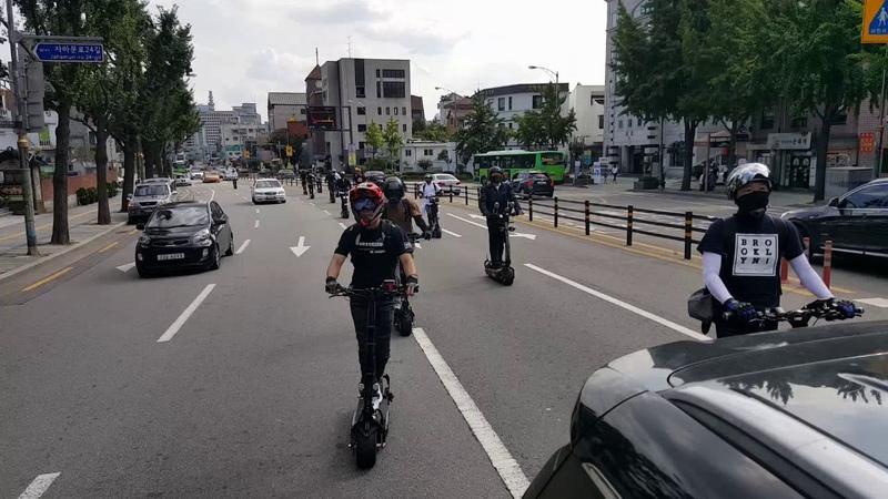 전동킥보드 electric scooter / WEPED ver.R / Seoul Tour