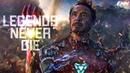 Marvel Iron Man Captain America Legends Never Die Vol 2