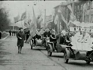 1970- Первомайская демонстрация