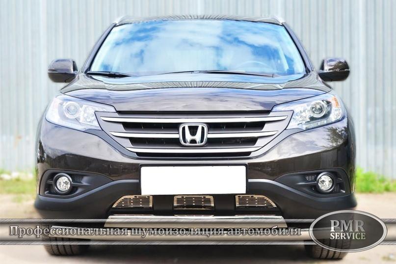 Шумоизоляция Honda CRV, изображение №2