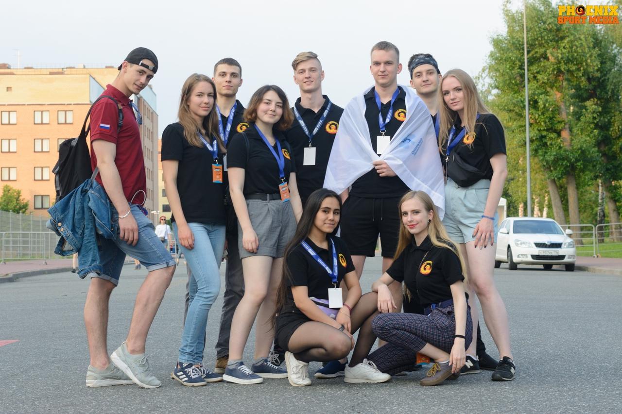 Команда Феникса в Казани на турнире АССК «Восток vs Запад»