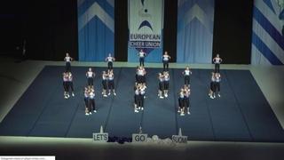 Cheerleading ..Junior Cheer Coed Elite Finland Dust Devil.