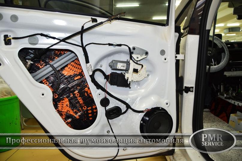 Комплексная шумоизоляция Volkswagen Jetta, изображение №13