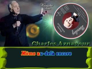 Karaoke Tino - Charles Aznavour - Etre
