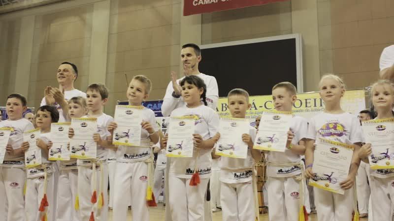 8-я Церемония вручения поясов в Самаре школы Abadá-Capoeira