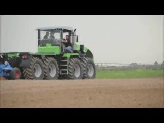 Уникальный трактор - deutz-fahr agro xxl