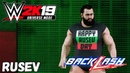 WWE 2K19 Universe Mode - Back Lash Rusev VS AJ Styles (Русская озвучка) 14