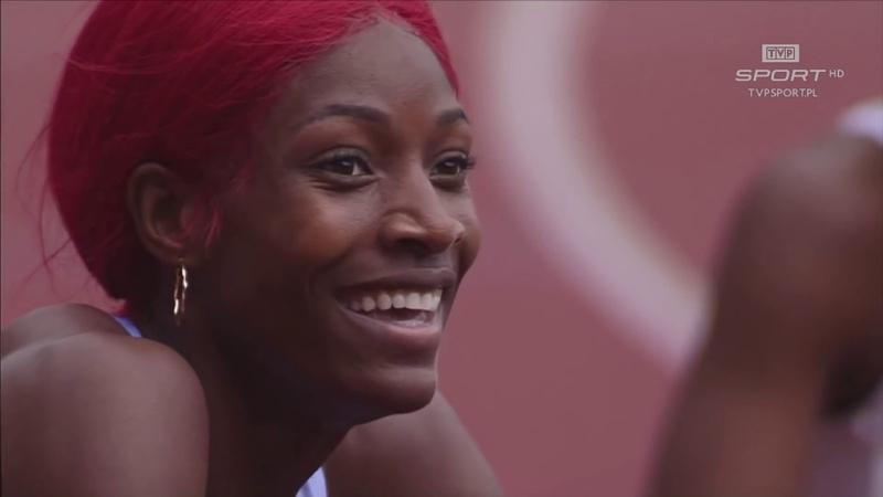Women 300m Shaunae MILLER UIBO 34.41 WORLD RECORD Ostrava Golden Spike 2019