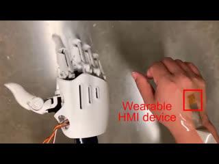 Незаметная носимая электроника толщиной в 1 микрон