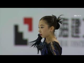 Elizabet tursynbaeva sp, shanghai trophy 2019