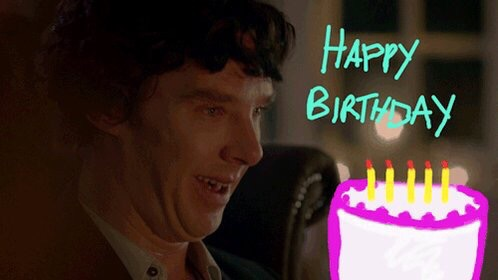 поздравление с днем рождения шерлок каждый обещает