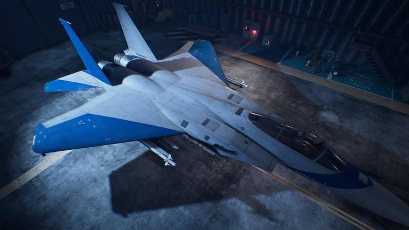 Ace Combat 7 Skies Unknown - F-15J Unlock Erusia Skin\Ps4