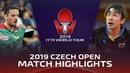 Koki Niwa vs Marcos Freitas | 2019 ITTF Czech Open Highlights (R32)