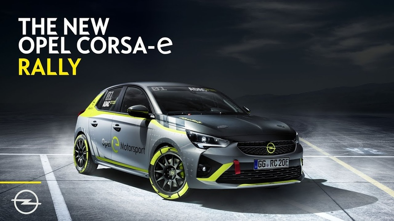 Opel: First Carmaker to Present Electric Rally Car